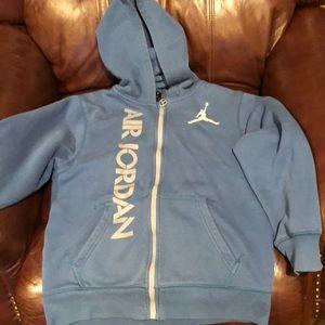 Jordan Logo Hoodie Size L(12-13)